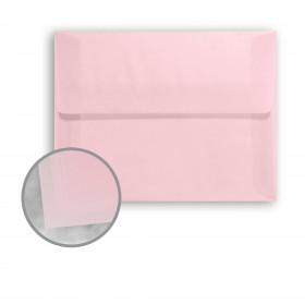 Glama Natural Pastel Pink Envelopes - A2 (4 3/8 x 5 3/4) 27 lb Bond Translucent Vellum 250 per Box