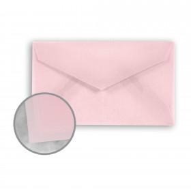 Glama Natural Pastel Pink Envelopes - Mini-lope (3 5/8 x 2 1/8) 27 lb Bond Translucent Vellum 500 per Carton