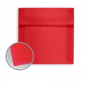 Glama Natural Red Envelopes - No. 5 1/2 Square (5 1/2 x 5 1/2) 27 lb Bond Translucent Vellum 250 per Box