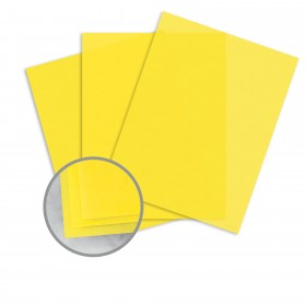 Glama Natural Yellow Paper - 27 1/2 x 39 3/8 in 27 lb Bond Translucent Vellum 125 per Package