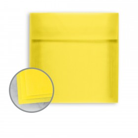 Glama Natural Yellow Envelopes - A2 (4 3/8 x 5 3/4) 27 lb Bond Translucent Vellum 250 per Box
