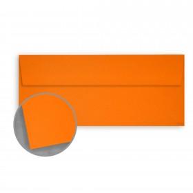 Glo-Tone Orange Light Envelopes - No. 10 Square (4 1/8 x 9 1/2) 60 lb Text Vellum  100% Recycled 500 per Box