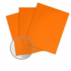 Glo-Tone Orange Light Paper - 8 1/2 x 11 in 60 lb Text Vellum 100% Recycled 500 per ream