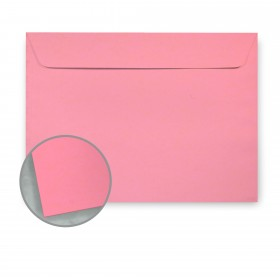Glo-Tone Shocking Pink Envelopes - No. 6 1/2 Booklet (6 x 9) 60 lb Text Vellum 100% Recycled 500 per Carton