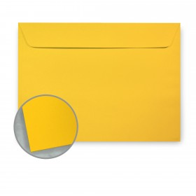Glo-Tone Shocking Yellow Envelopes - No. 6 1/2 Booklet (6 x 9) 60 lb Text Vellum 100% Recycled 500 per Carton