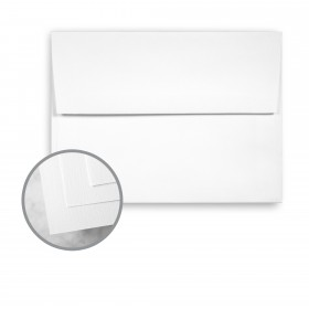 HOWARD Linen Bright White Envelopes - A6 (4 3/4 x 6 1/2) 70 lb Text Linen 250 per Box