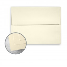 HOWARD Linen Lively Ivory Envelopes - A7 (5 1/4 x 7 1/4) 70 lb Text Linen  30% Recycled 250 per Box