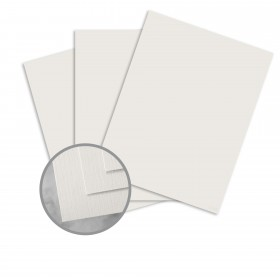 HOWARD Linen Star Sapphire Gray Card Stock - 8 1/2 x 11 in 80 lb Cover Linen  30% Recycled 250 per Package