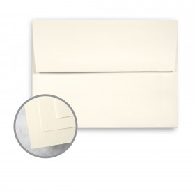 HOWARD Linen Warm White Envelopes - A7 (5 1/4 x 7 1/4) 70 lb Text Linen  30% Recycled 250 per Box