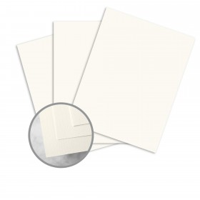 HOWARD Linen White Paper - 35 x 22 1/2 in 24 lb Writing Linen  30% Recycled Watermarked 1500 per Carton