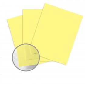 kaBoom! Yellow Flicker Paper - 8 1/2 x 11 in 70 lb Text Smooth 500 per package