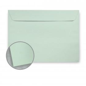 Kraft-Tone Ledger Green Kraft Envelopes - No. 6 1/2 Booklet (6 x 9) 70 lb Text Vellum  100% Recycled 500 per Carton