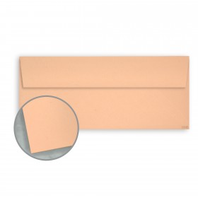 Kraft-Tone Memo Orange Kraft Envelopes - No. 10 Square Flap (4 1/8 x 9 1/2) 70 lb Text Vellum  100% Recycled 500 per Box