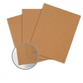 Kraft-Tone Brown Box Kraft Card Stock - 26 x 40 in 100 lb Cover Vellum  100% Recycled 400 per Carton