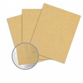 Kraft-Tone Parcel Wrap Kraft Card Stock - 26 x 40 in 100 lb Cover Vellum  100% Recycled 400 per Carton