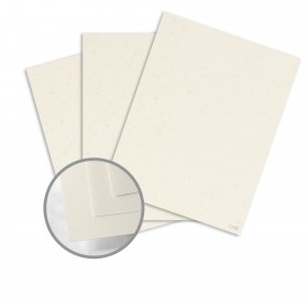 Kraft-Tone Standard White Kraft Card Stock - 26 x 40 in 100 lb Cover Vellum  100% Recycled 400 per Carton