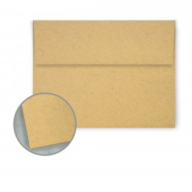 Kraft-Tone Parcel Wrap Kraft Envelopes - A1 (3 5/8 x 5 1/8) 70 lb Text Vellum 100% Recycled 250 per Box