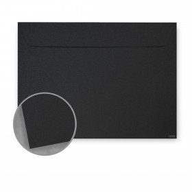 Kraft-Tone Standard Black Kraft Envelopes - No. 6 1/2 Booklet (6 x 9) 70 lb Text Vellum  100% Recycled 500 per Carton
