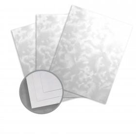 Kromekote Jade White Card Stock - 8 1/2 x 11 in 81 lb Cover Brush C/1S 300 per Package