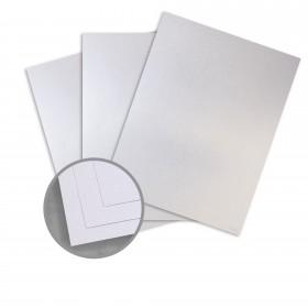 Kromekote Jade White Card Stock - 8 1/2 x 11 in 81 lb Cover Linen C/1S 300 per Package