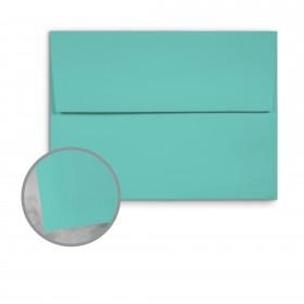 Basis Antique Vellum Aqua Envelopes - A9 (5 3/4 x 8 3/4) 70 lb Text Vellum - 250 per Box