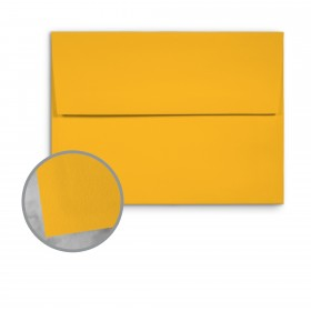 Basis Antique Vellum Gold Envelopes - A6 (4 3/4 x 6 1/2) 70 lb Text Vellum - 25 per Box
