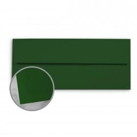 Basis Antique Vellum Green Envelopes - No. 10 Commercial (4 1/8 x 9 1/2) 70 lb Text Vellum - 25 per Box