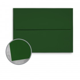 Basis Antique Vellum Green Envelopes - A1 (3 5/8 x 5 1/8) 70 lb Text Vellum - 250 per Box
