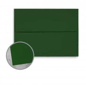 Basis Antique Vellum Green Envelopes - A7 (5 1/4 x 7 1/4) 70 lb Text Vellum - 25 per Box