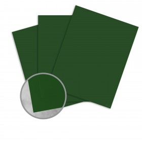 Basis Antique Vellum Green Card Stock - 8 1/2 x 11 in 80 lb Cover Vellum 100 per Package