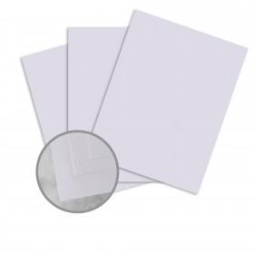 Basis Antique Vellum Light Purple Card Stock - 8 1/2 x 11 in 80 lb Cover Vellum 250 per Package