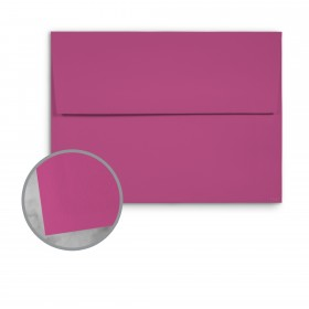 Basis Antique Vellum Magenta Envelopes - A2 (4 3/8 x 5 3/4) 70 lb Text Vellum - 25 per Box