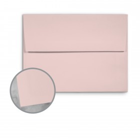 Basis Antique Vellum Pink Envelopes - A9 (5 3/4 x 8 3/4) 70 lb Text Vellum - 25 per Box
