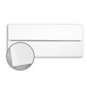 Basis Antique Vellum White Envelopes - No. 10 Commercial (4 1/8 x 9 1/2) 70 lb Text Vellum - 500 per Box