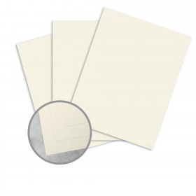 Basis Linen Ivory Paper - 8 1/2 x 11 in 70 lb Text Linen 200 per Package