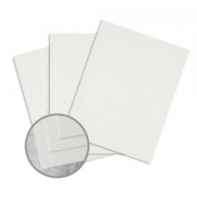 Loop Antique Vellum Birch Card Stock - 23 x 35 in 80 lb Cover Antique Vellum  100% Recycled 500 per Carton