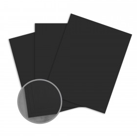 Loop Antique Vellum Black Paper - 25 x 38 in 80 lb Text Antique Vellum  50% Recycled 1000 per Carton