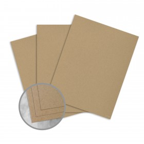 Loop Antique Vellum Jute Card Stock - 23 x 35 in 80 lb Cover Antique Vellum  50% Recycled 500 per Carton