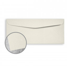 Loop Antique Vellum Milkweed Envelopes - No. 10 Commercial (4 1/8 x 9 1/2) 80 lb Text Antique Vellum  100% Recycled 500 per Box