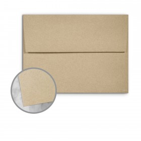Loop Antique Vellum Straw Envelopes - A7 (5 1/4 x 7 1/4) 80 lb Text Antique Vellum  50% Recycled 250 per Box