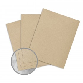 Loop Antique Vellum Straw Card Stock - 26 x 40 in 80 lb Cover Antique Vellum  50% Recycled 500 per Carton