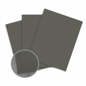 Loop Antique Vellum Urban Gray Card Stock - 26 x 40 in 80 lb Cover Antique Vellum  50% Recycled 500 per Carton