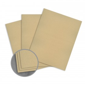 Loop Feltmark Ginger Card Stock - 26 x 40 in 80 lb Cover Feltmark  100% Recycled 500 per Carton