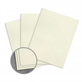 Loop Feltmark Gypsum Card Stock - 23 x 35 in 80 lb Cover Feltmark  100% Recycled 500 per Carton