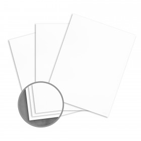 Loop Feltmark White Paper - 23 x 35 in 80 lb Text Feltmark  100% Recycled 1100 per Carton