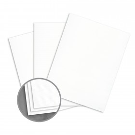 Loop Inxwell Eco White Card Stock - 24 x 36 in 80 lb Cover Vertical  100% Recycled 500 per Carton