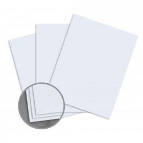 Loop Laid Restful Blue Card Stock - 26 x 40 in 80 lb Cover Laid  50% Recycled 500 per Carton