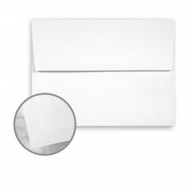 Loop Linen Pure White Envelopes - A2 (4 3/8 x 5 3/4) 70 lb Text Linen  30% Recycled 250 per Box