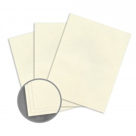 Loop Smooth Gypsum Card Stock - 8 1/2 x 11 in 80 lb Cover Smooth  100% Recycled 250 per Package