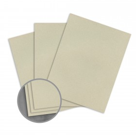 Loop Smooth Sage Card Stock - 23 x 35 in 80 lb Cover Smooth  100% Recycled 500 per Carton